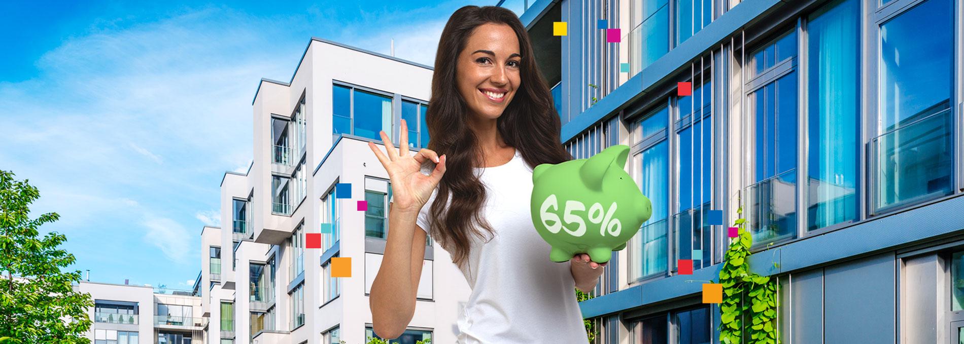 USUFRUISCI SUBITO DELLA DETRAZIONE DEL 65%