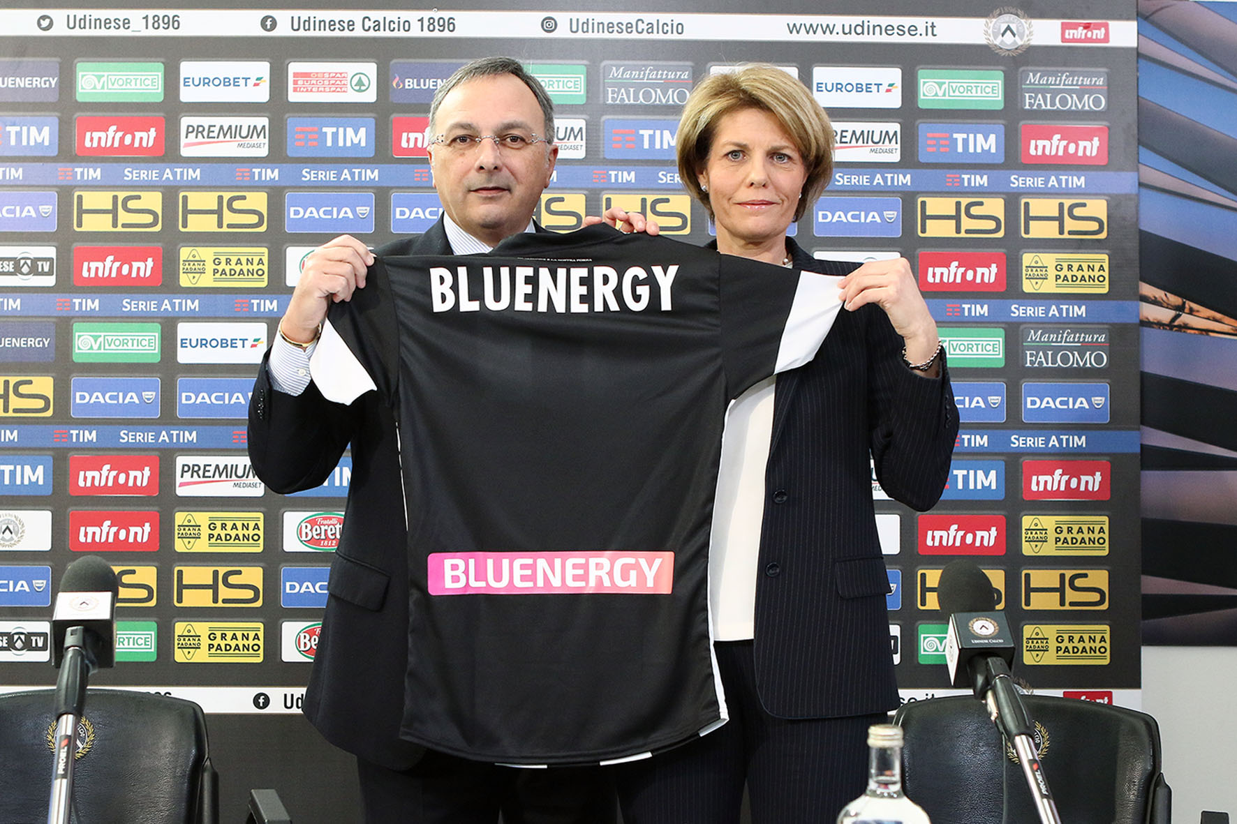 Bluenergy è Back Jersey Sponsor di Udinese Calcio