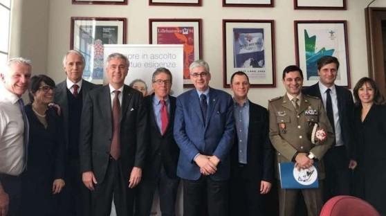 Trofeo Bluenergy Group presentato al presidente Coni Malagò