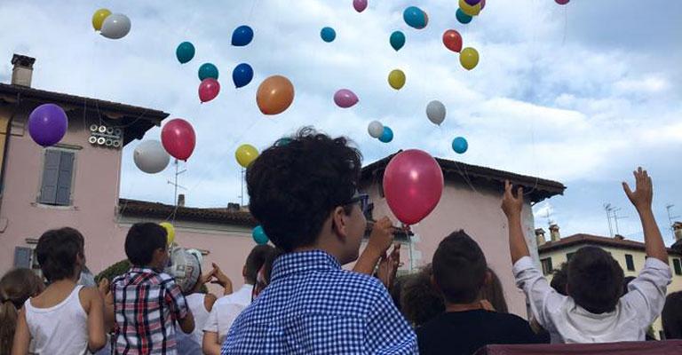 Mittelfest si apre con l'impegno dei bambini: e Bluenergy è al loro fianco.