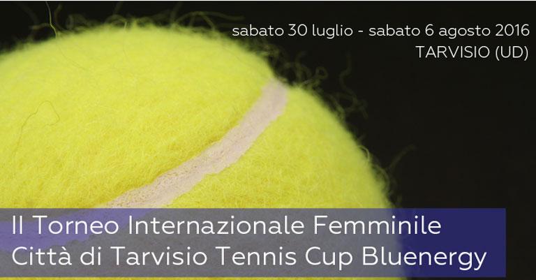 Città di Tarvisio Tennis Cup: da questa edizione Bluenergy è main sponsor