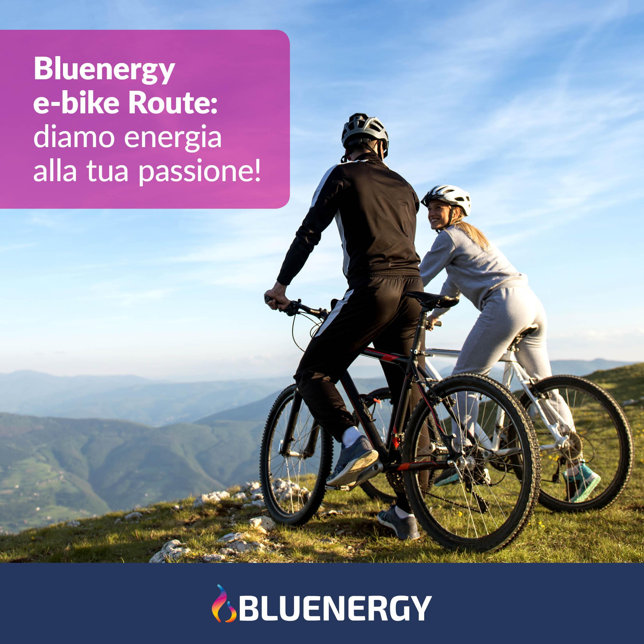 Bluenergy e-bike Route: nasce il percorso dedicato alle bici elettriche