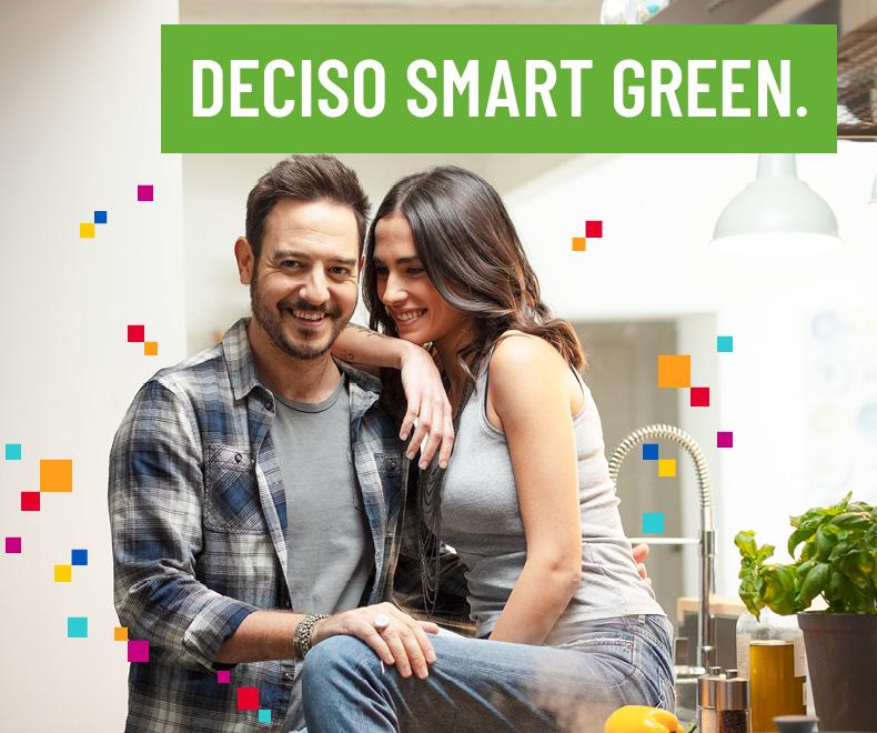 Offerta luce Deciso Smart Green