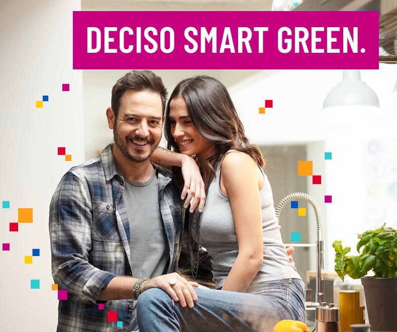 Offerta luce e gas Deciso Smart Green