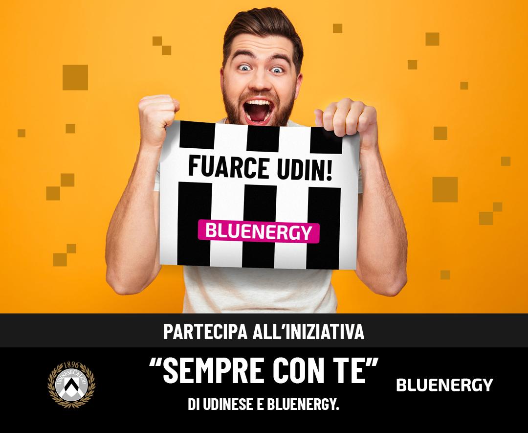 Sempre con te - iniziativa tifosi Bluenergy Udinese Calcio
