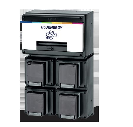 WALLBOX BLU E-BIKE